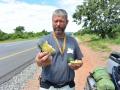4 Zambie stravování po cestě