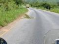 14 Tanzánie výstražný trojúhelník