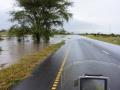 2 Tanzánie zaplavená cesta