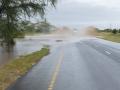 3 Tanzánie zaplavená cesta