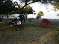 Stanování u jezera